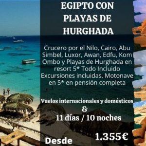 Egipto con Playa